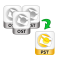 convert multiple pst files