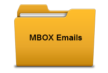 Single MBOX file and folder conversion